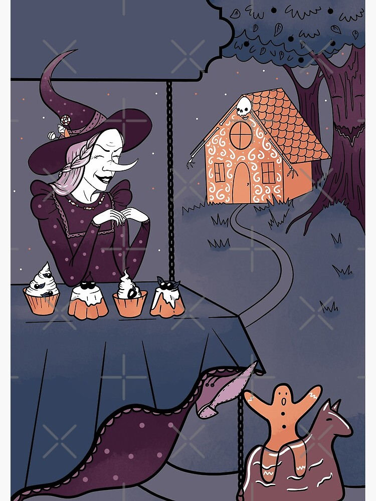 Funny witch by Elenanaylor
