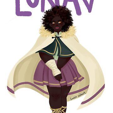 LUNAV -- Evelyn's White Cloak by jpolishwrites