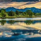 Sawhill Ponds Sunset by Gregory J Summers