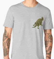Horned Lizard   Desert Reptile   Nature Lover Gift Men's Premium T-Shirt
