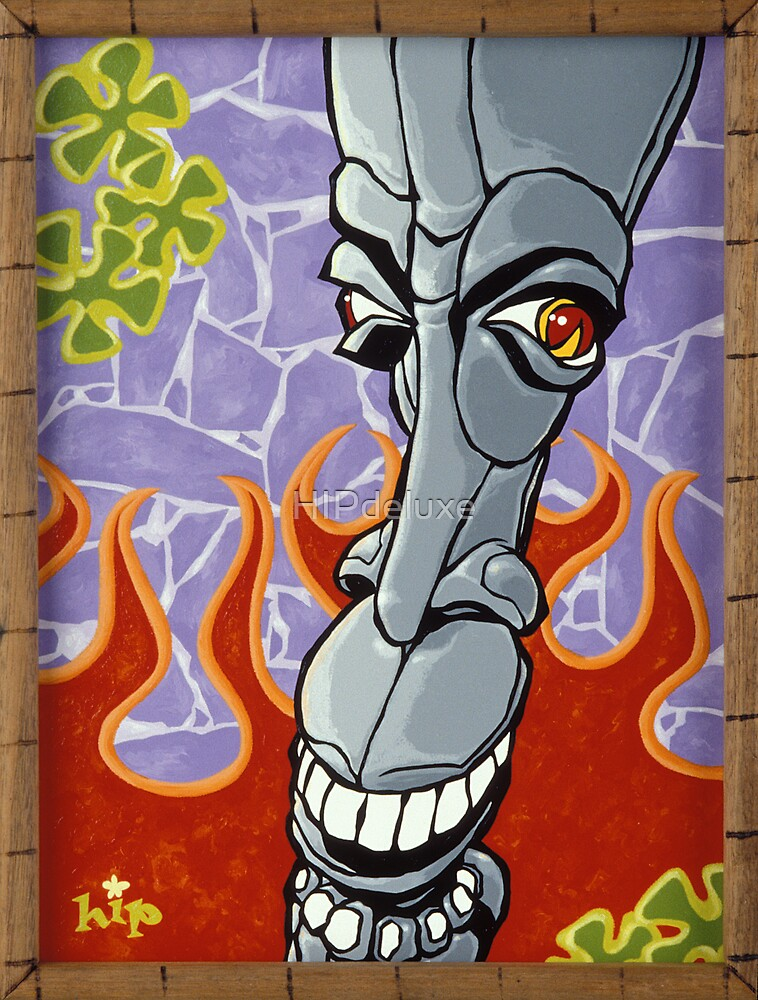 Flamin' Stoned Tiki! by HIPdeluxe