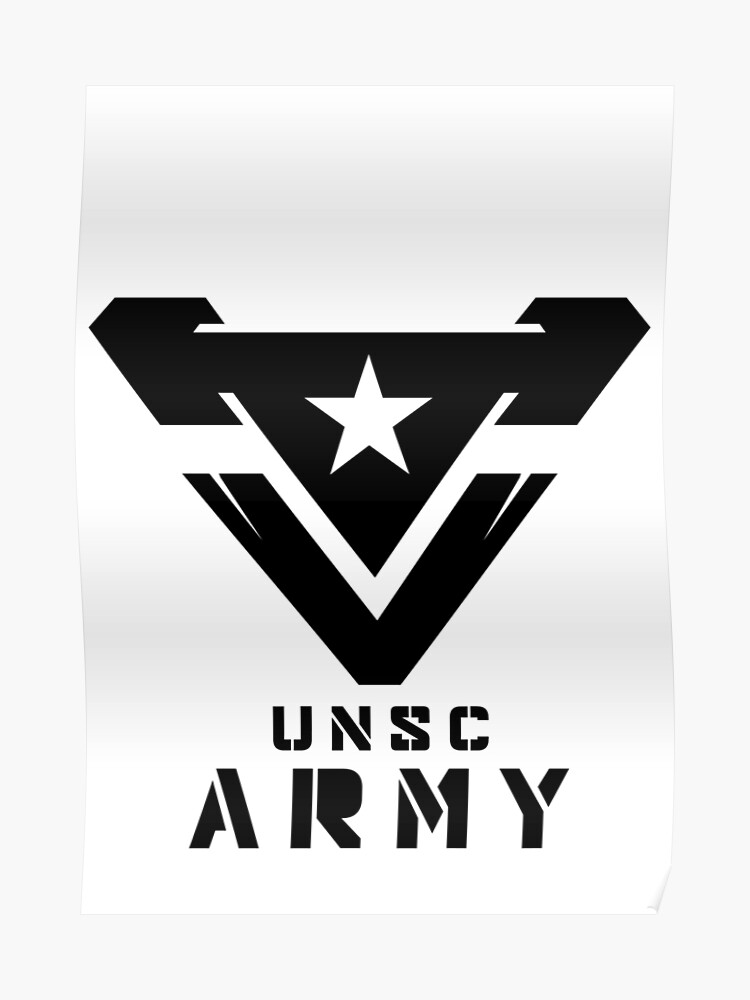 Halo - UNSC ARMY | Poster