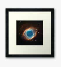 The Helix Nebula Space Photo Framed Print