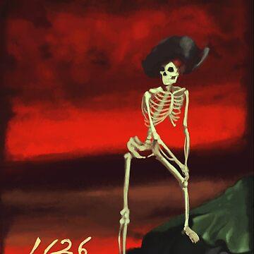 Skeleton Painting by SLisica08