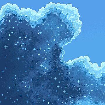 Art Along #2: Glacier Galaxy by sp8cebit