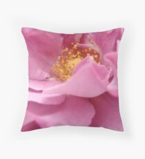 Delicate Folds Throw Pillow