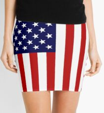 Amerikanische Flagge Minirock