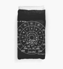 Circle of Fifths Duvet Cover