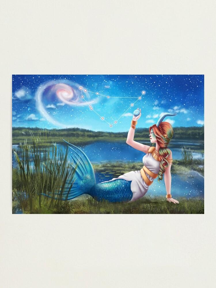 Alternate view of Capricorn OC - 12 Zodiac Ladies Photographic Print