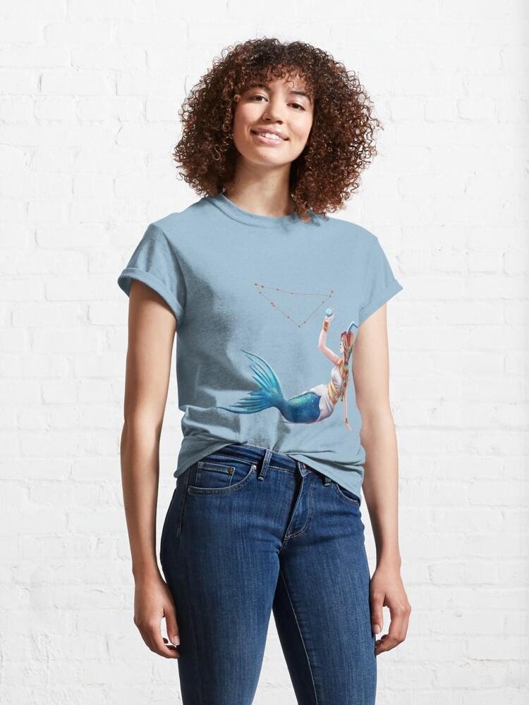 Alternate view of Capricorn OC - 12 Zodiac Ladies Classic T-Shirt