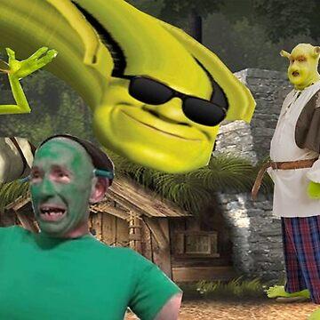 Shrek Collage Mug by pickili