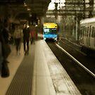 Flinders Street Station by Peter Hammer