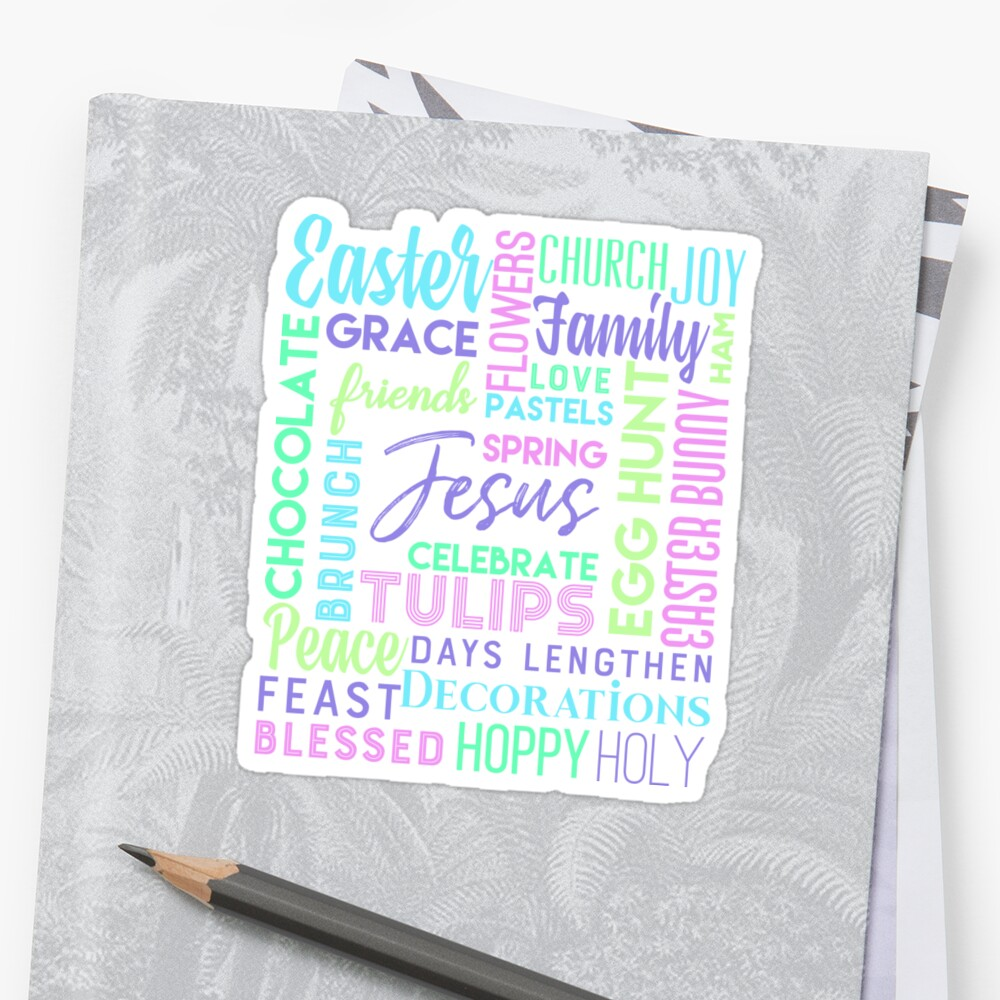 Cute pastel color easter gift for everyone who loves jesus church cute pastel color easter gift for everyone who loves jesus church their egg negle Choice Image
