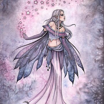 Captured Sky Fairy Fantasy Artwork by Molly Harrison by robmolily