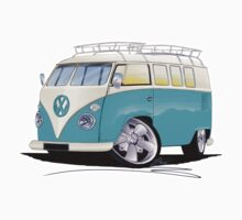 VW Splitty (Custom Blue) Camper Van