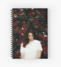 Lana Del Rey Spiral Notebook
