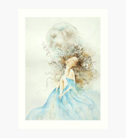 luna piena, sogni d'oro © 2009 patricia vannucci  Art Print