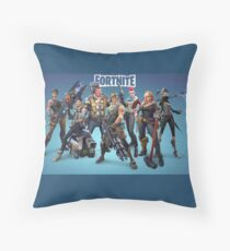 Fortnite Characters Throw Pillow