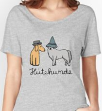 Hats dogs - dog with hat Women's Relaxed Fit T-Shirt