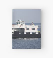 Ferry Boat on Lake Michigan Hardcover Journal