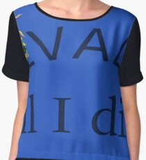 Nevada til I die Chiffon Top