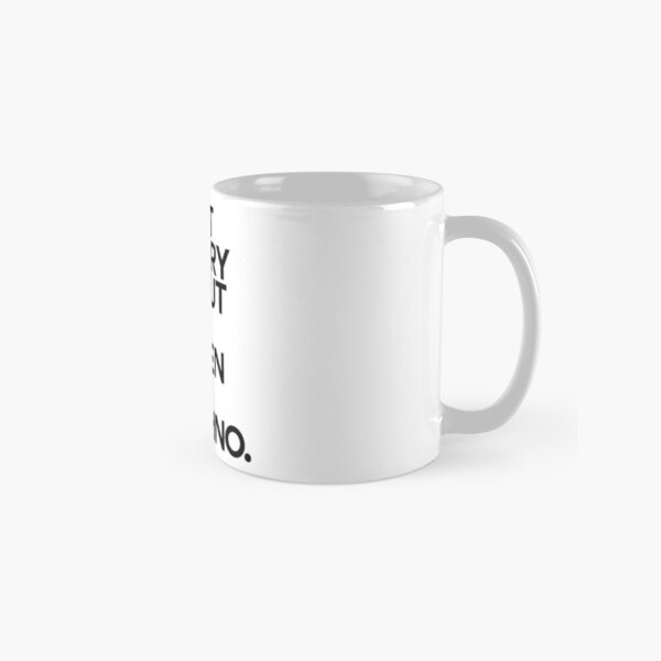 Don´t worry about Life. Listen to Techno #1 Tasse (Standard)