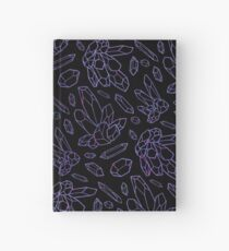Amethyst Crystals Hardcover Journal
