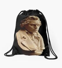 Beethoven bust statue by Hagen Drawstring Bag