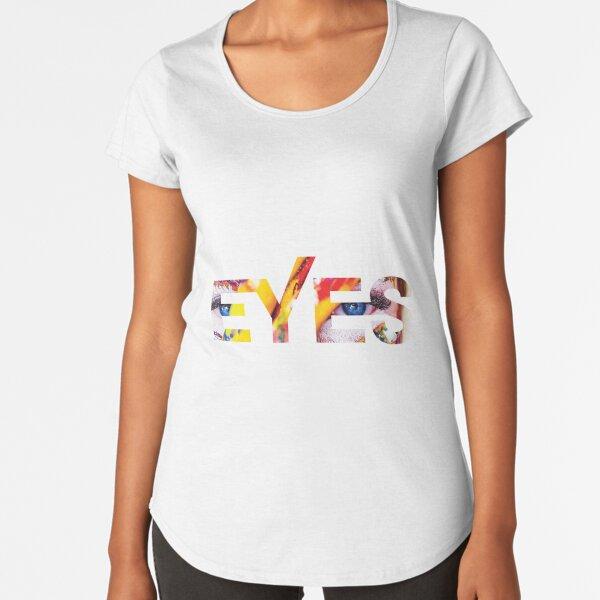 Tribal Eyes Premium Scoop T-Shirt
