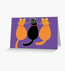 Is That The Sound  Of An Opening Can?!! Greeting Card