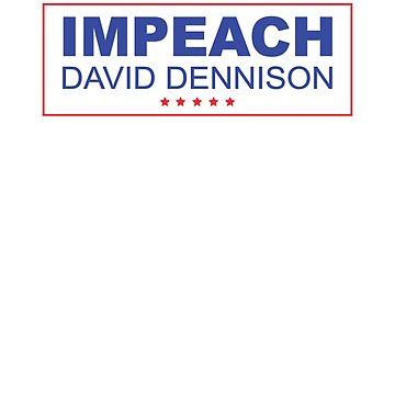 Impeach Trump, Impeach David Dennison, Trump Logo by cinn