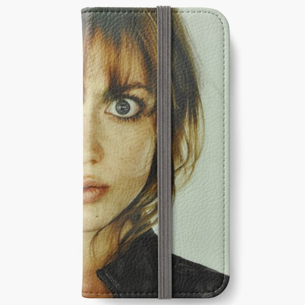 big eyes girl iPhone Wallet