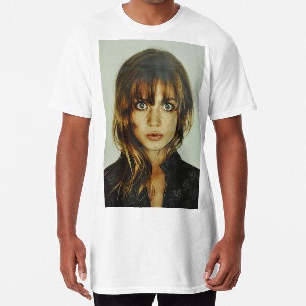 big eyes girl Long T-Shirt