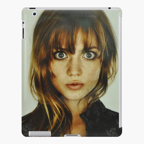 big eyes girl iPad Snap Case