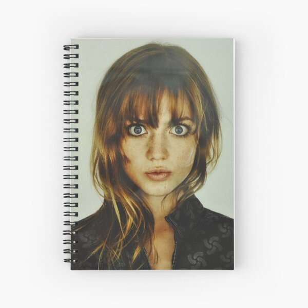 big eyes girl Spiral Notebook