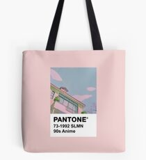 PANTONE 90s Anime Tote Bag