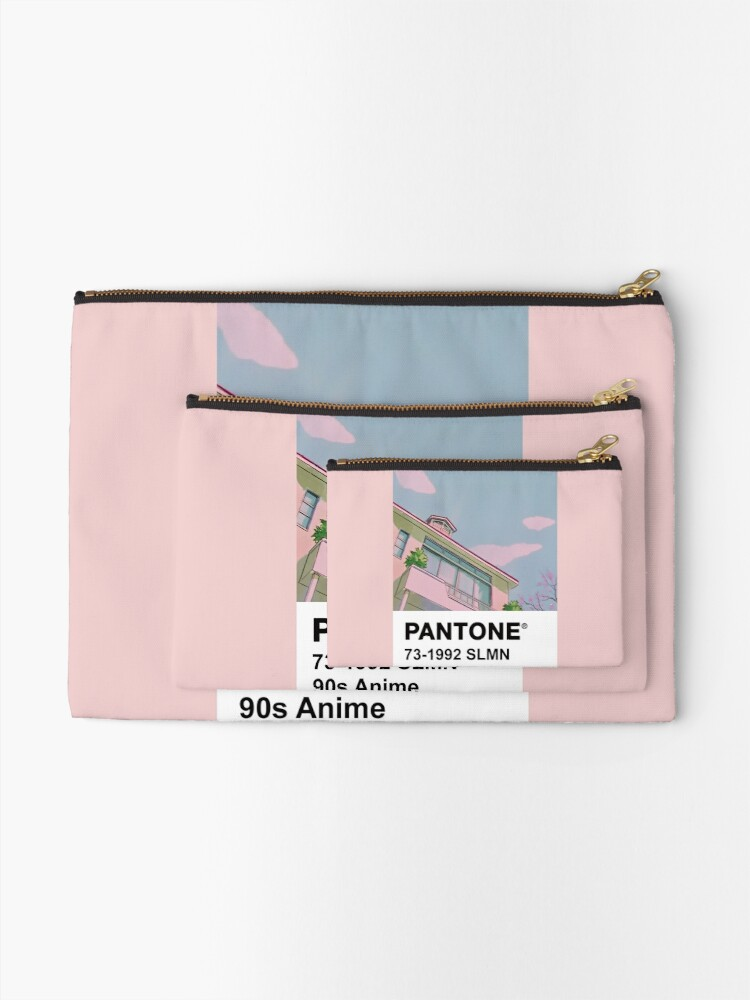 Alternate view of PANTONE 90s Anime Zipper Pouch