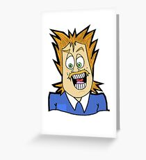 Mr. Short Greeting Card