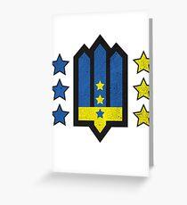 Ukrainian Insurgent Army  Greeting Card