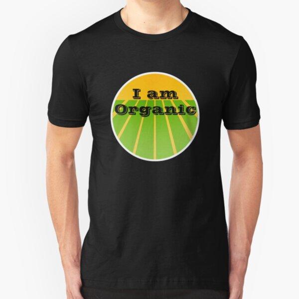 I AM ORGANIC Slim Fit T-Shirt