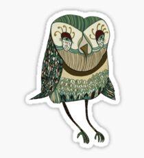 My Garden Owl Sticker