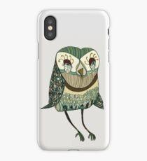 My Garden Owl iPhone Case
