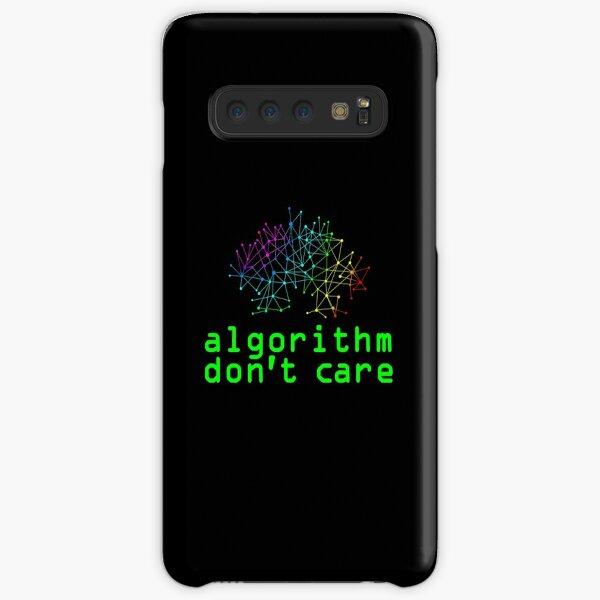 Algorithm Don't Care Samsung Galaxy Snap Case
