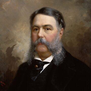 Präsident Chester A. Arthur Malerei von warishellstore