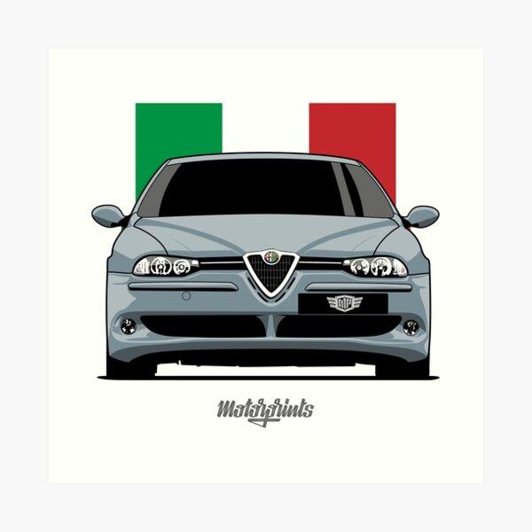 156 GTA (silver) Art Print