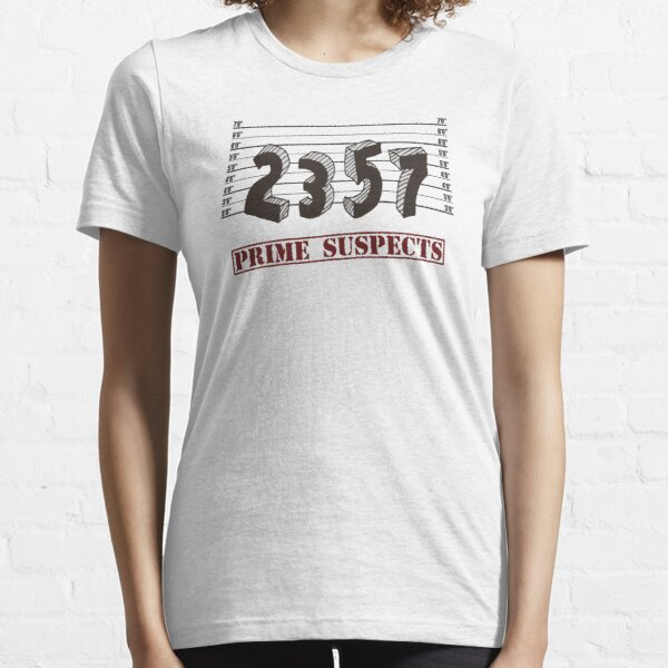 The Prime Number Suspects Essential T-Shirt