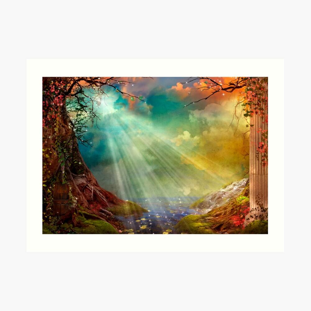 The Secret Grotto Art Print