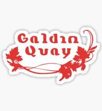 Galdin Quay Sticker