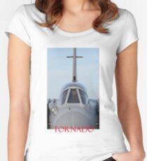 Tornado - RAF Tornado GR 4 jet fighter Women's Fitted Scoop T-Shirt
