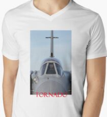 Tornado - RAF Tornado GR 4 jet fighter Mens V-Neck T-Shirt